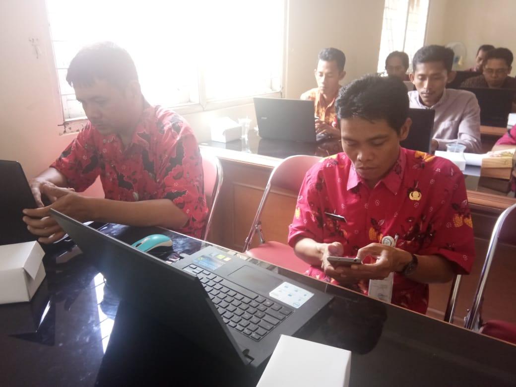 Admin Website beberapa Desa di Kabupaten Purbalingga Ikuti Pelatihan